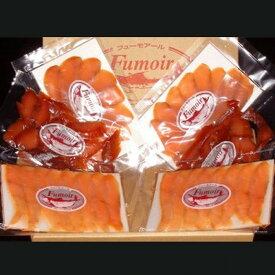 【ふるさと納税】11-37 無添加天然・紋別産鱒スモーク三種食べくらべセット
