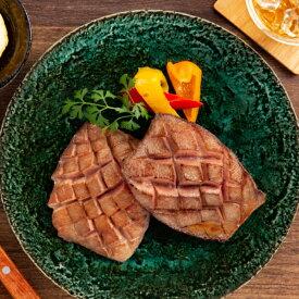 【ふるさと納税】17-28 紋別名物 流氷昆布締め上牛タンステーキ