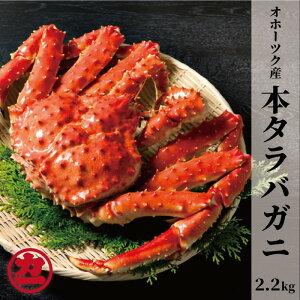 【ふるさと納税】48-2 オホーツク産タラバガニ姿【2.2kg〜】