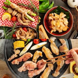 【ふるさと納税】10-324 紋別名物 流氷昆布締め鶏3種の食べ比べセット