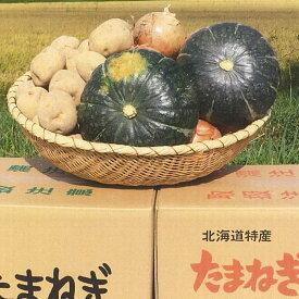 【ふるさと納税】【予約受付】A110 野菜詰め合わせ10kg【じゃがいも4kg、玉ねぎ4kg、かぼちゃ1玉】