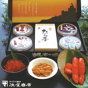 【ふるさと納税】根室の味セット(たらこ、いくら、いか塩辛) A-32001