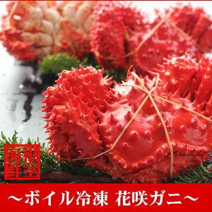 【ふるさと納税】 【北海道根室産】花咲ガニ410〜560g×4尾 A-57005