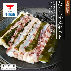 【ふるさと納税】 たこしゃぶセット 魚貝類 タコ 鍋 蛸 シーフード【北海道千歳市】