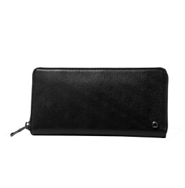【ふるさと納税】[OX-01] SOMES OX-01 ラウンド束入れ(ブラック) 革 革製品 財布 長財布