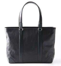 【ふるさと納税】[TT-01] SOMES TT-01トートバッグ(ブラック) 革 革製品 革鞄 革バッグ 鞄 バッグ