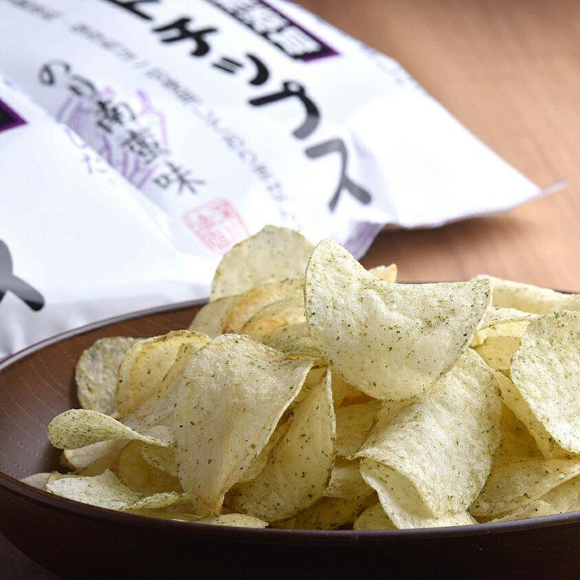 【ふるさと納税】S008019 化学調味料無添加ポテトチップス のり南蛮味