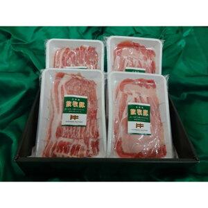 【ふるさと納税】北海道産放牧豚しゃぶしゃぶ肉セット【12002】