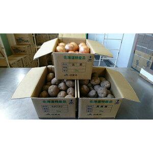 【ふるさと納税】【2021年10月下旬発送予定】馬鈴薯(キタアカリ5kg・男爵5kg)・玉ねぎ5kg食べ比べセット【29005】