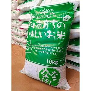 【ふるさと納税】【玄米】リッキーファームのお米【ななつぼし10kg】【1070915】
