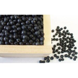 【ふるさと納税】新しのつ産 黒豆「黒千石大豆」1kg 【豆類】