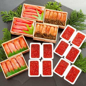 【ふるさと納税】丸鮮道場水産 有名百貨店でも人気の北海道産魚卵堪能セットDX(計2.2kg)M38