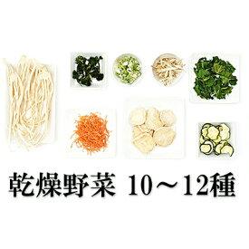 【ふるさと納税】農家手づくりの味詰合せ(1)≪乾燥野菜12種≫ 【加工食品】