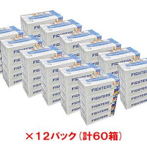 【ふるさと納税】北海道日本ハムファイターズボックスティッシュ12パック(60箱)【納期:1〜2ヶ月】 【雑貨・日用品・トイレ用品】