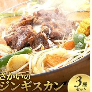 【ふるさと納税】さかいのジンギスカン 3種セット 【肉の加工品・羊肉】
