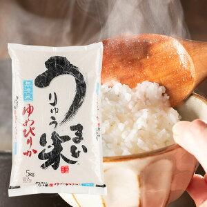 【ふるさと納税】[R01A08]令和元年産うりゅう米ゆめぴりか 無洗米5kg×1袋
