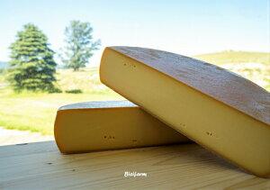 【ふるさと納税】[100-38]美瑛放牧酪農場 ラクレットチーズ ホールサイズ
