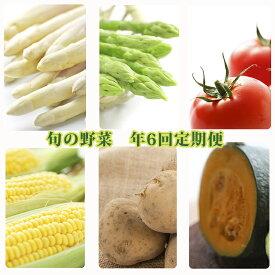 【ふるさと納税】北海道美深町 旬の野菜 年6回定期便 【定期便・野菜・とうもろこし・じゃがいも】