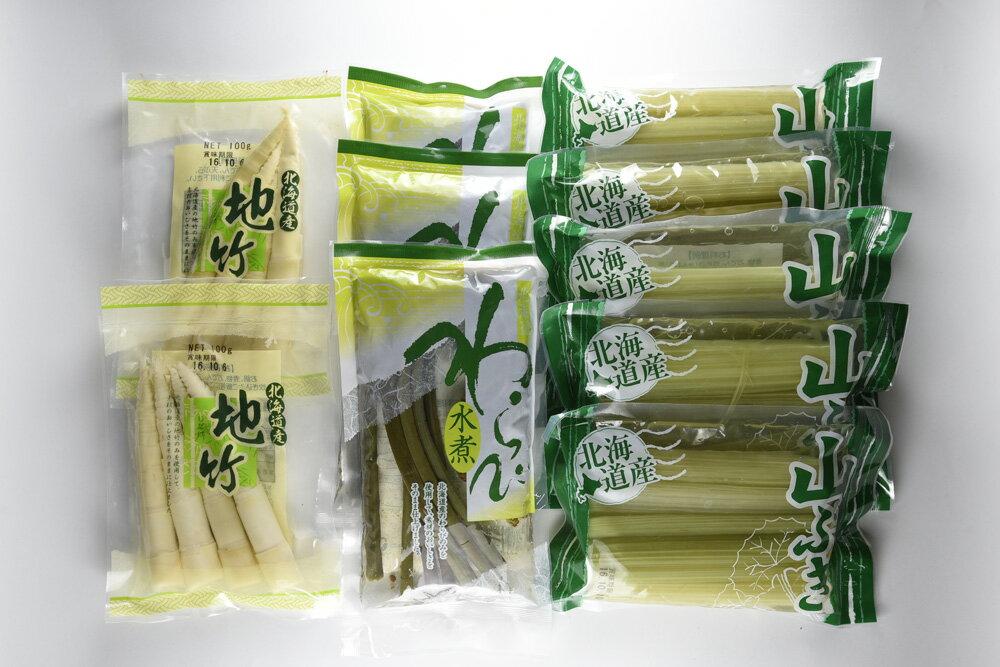 【ふるさと納税】A31 北海道山菜ギフトセット1