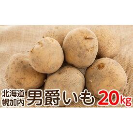 【ふるさと納税】北海道幌加内産じゃがいも(男爵)約20kg 【野菜・じゃがいも】 お届け:2020年10月〜2020年12月