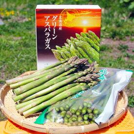 【ふるさと納税】北海道オロロングリーンアスパラガス 1.5kg