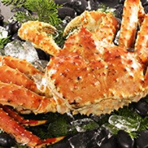 【ふるさと納税】【冷凍】オホーツク枝幸産 ボイルたらばがに姿1尾(LL)約2.5kg〜3kg前後 北海道 魚介 かに 冷凍 年越し 【たらば蟹・タラバガニ】