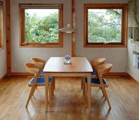 【ふるさと納税】ダイニングセット テーブル(ナラ)椅子2脚セット(TAG/PEG)