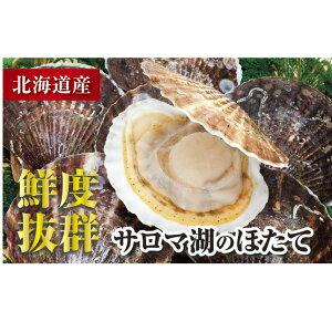 【ふるさと納税】大粒!オホーツク産 冷凍ほたて貝柱1kg(S〜M) 【魚貝類・帆立・ホタテ】