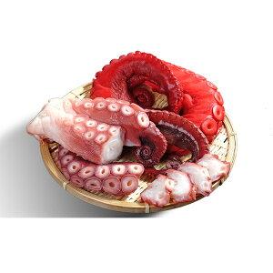 【ふるさと納税】北海道日高産浜ゆでダコ&酢だこセット約2.6kg 【魚貝類・タコ・魚介類・加工食品】
