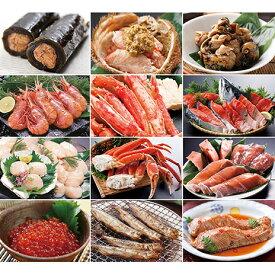 【ふるさと納税】北海の味わい 毎月お届けコース(12ヶ月連続) 【定期便・魚介類・鍋セット・海鮮鍋・頒布会】