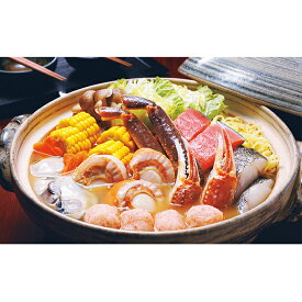 【ふるさと納税】えりも【マルデン厳選】海鮮味噌バター鍋 【鍋セット・蟹・カニ】