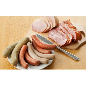 【ふるさと納税】【ベーコン&ソーセージ】豚肉次郎のブロックベーコン&ソーセージ4種 【お肉・ソーセージ・お肉・昆布】