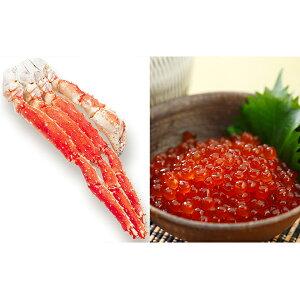 【ふるさと納税】たらばがに(脚肉)1kg&北海道産いくら醤油漬250g×2個 【魚貝類・いくら・魚卵・たらば蟹・タラバガニ・蟹・カニ】