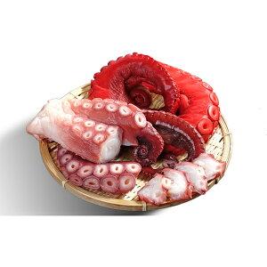【ふるさと納税】ひだか産 浜ゆでダコ&酢だこセット約2.6kg 【魚貝類・タコ・魚介類・ゆでダコ・酢だこ・タコセット】