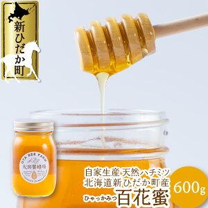 【ふるさと納税】北海道産はちみつ 百花蜜 600g