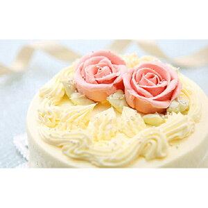 【ふるさと納税】懐かしい昭和の味わい♪ バタークリームケーキ 北海道・新ひだか町のオリジナルケーキ