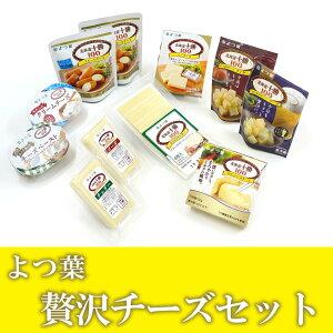 【ふるさと納税】(発送まで2〜3か月程度)とかち「よつ葉」贅沢チーズセット