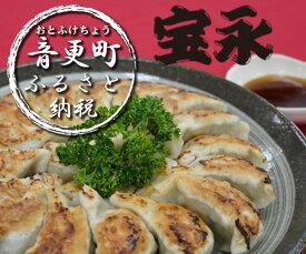 【ふるさと納税】「音更ぎょうざの宝永」手造り冷凍餃子約80個(1kg×2袋)