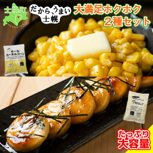 【ふるさと納税】北海道 コーン いもだんご 冷凍食品 2種 セット カーネルコーン トウモロコシ とうもろこし いももち いも団子 ジャガイモ じゃがいも 冷凍 おかず お弁当 詰合せ お取り寄
