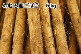 【ふるさと納税】愛菜屋のめむろごぼう(5kg)