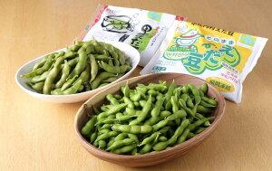 【ふるさと納税】【十勝】ふっくら甘い枝豆 食べ比べ2種 300g×6袋[D1-5]