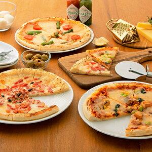 【ふるさと納税】NEEDSオリジナルピザ3種(クリームチーズ&ベーコン・ラクレット・アスパラベーコン)【十勝幕別町】 【加工品・惣菜・冷凍・ピッツァ・セット・詰め合わせ】