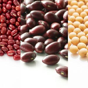 【ふるさと納税】北海道産 3種の豆セット各500g 【大豆・豆類・野菜・あずき・セット・詰め合わせ】