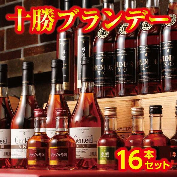 【ふるさと納税】D01-2 十勝ブランデー16本セット