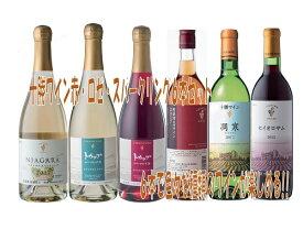 【ふるさと納税】C001-5 十勝ワイン赤・白・ロゼ・スパークリングセット