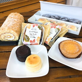 【ふるさと納税】A033-3 ロールケーキとプチスイーツセット