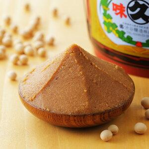 【ふるさと納税】北海道十勝 醗酵食品「樽入り味噌(十勝大豆こし味噌)」2Kg