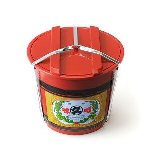 【ふるさと納税】北海道十勝 醗酵食品「樽入り味噌(キレイマメ黒豆味噌)」2Kg