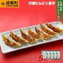 【ふるさと納税】旨さがあふれ出す、行者にんにく餃子(220g×5パック)北海道のご当地餃子