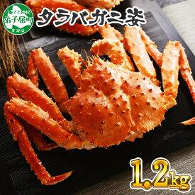 【ふるさと納税】 蟹 ボイルタラバ姿 1.2kg 北海道加工 かに カニ タラバ蟹 たらば蟹 タラバガニ たらばがに 蟹肉 蟹脚 ボイル 弟子屈町
